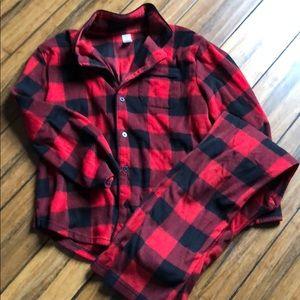 Gap Kids Fleece Pajamas Size 12